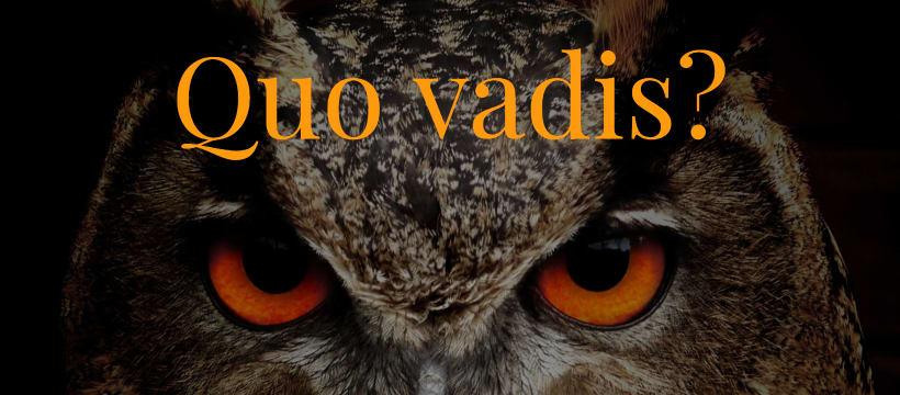 Quo vadis? Wohin gehst Du?
